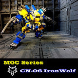 MOC CN-06 The Iron Wolf - Your World of Building Blocks