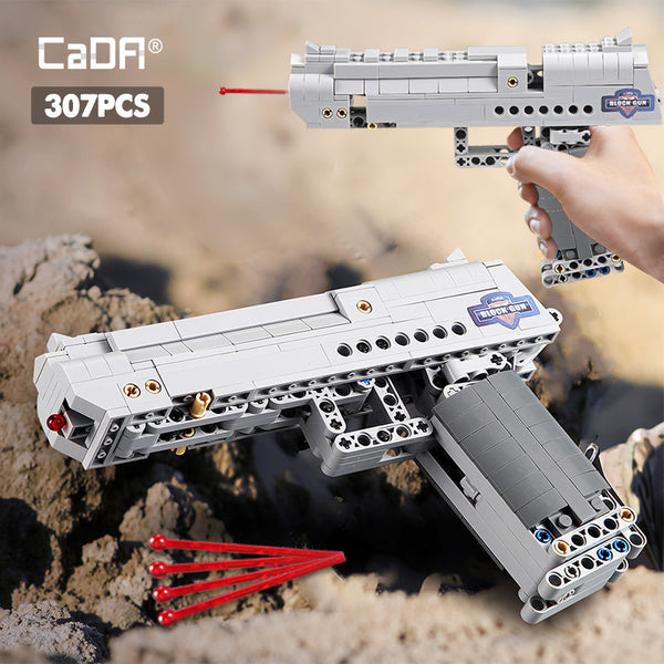 CADA C81007 Desert Eagle Pistol - Your World of Building Blocks