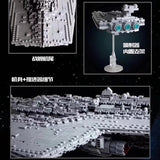 Mould King 13134 Executor class Star Dreadnought