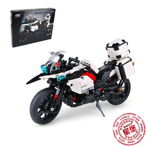 XINGBAO XB-03019 The Patrol Motorcycle - Your World of Building Blocks