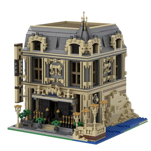 MOC 14123 The Lounge (10253 Big Ben Alternate Model Modular)