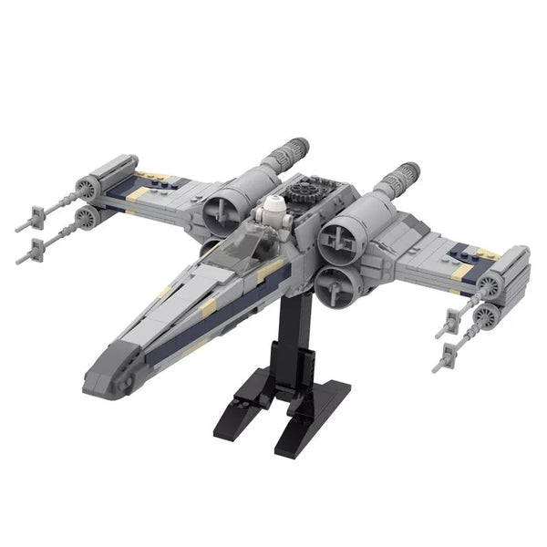 MOC 18144 EXS Wing Starfighter Minifig Scale