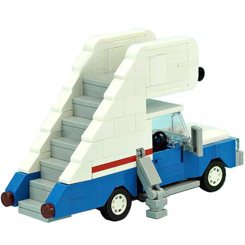 MOC 10485 Stairs truck