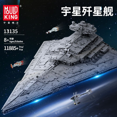 Mould King 13135 MONARCH Imperial Star Destroyer - Your World of Building Blocks