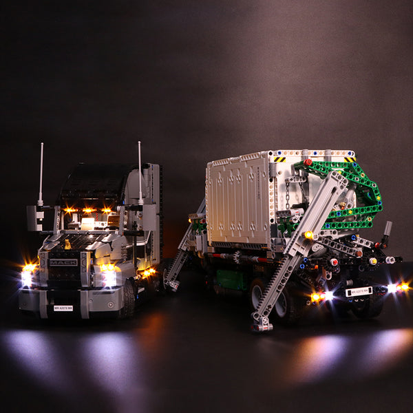 DIY LED Light Kit For the Big Truck 20076 - Your World of Building Blocks