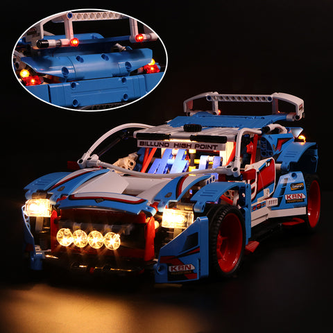 DIY LED Light Kit For The Rally Car 20077 - Your World of Building Blocks