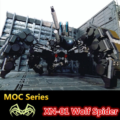 MOC XN-01 The Wolf Spider - Your World of Building Blocks