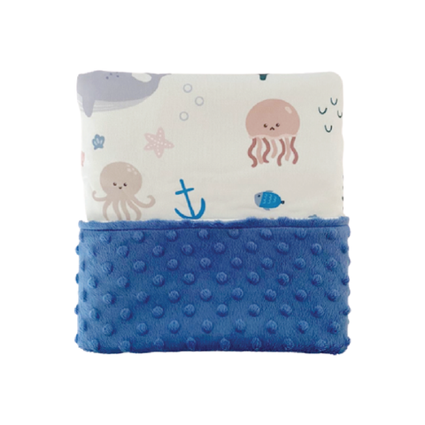 Cottonseeds Blanket Sea Animals