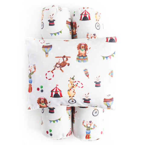 Cottonseeds Pillow Bolster Circus