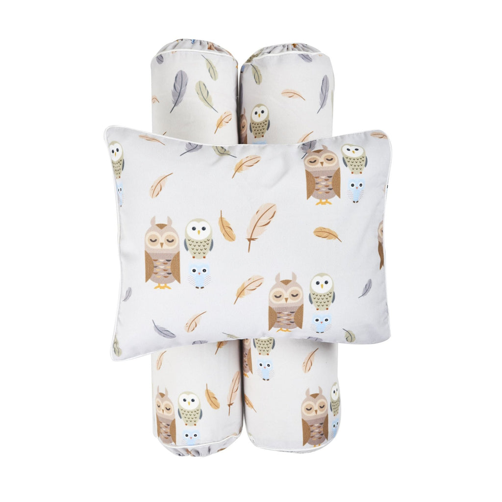 Cottonseeds Pillow Bolster Owl and Friends