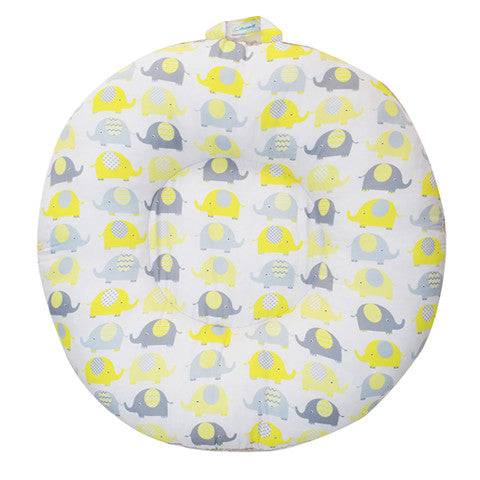 Cottonseeds Doughnut Floor Pillow Elephant