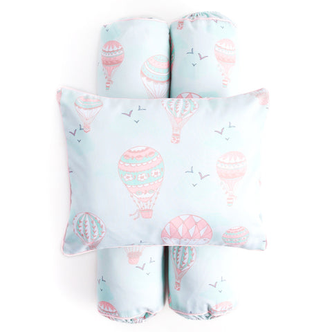 Cottonseeds Pillow Bolster Hot Air Balloon