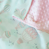 Cottonseeds Blanket Hot Air Balloon
