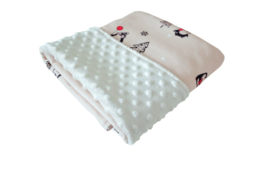 Cottonseeds Blanket Christmas Penguin
