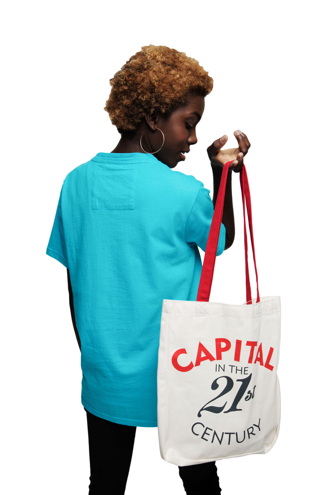 Canvas Tote Bag 'Capital in the 21st Century' - Diiple.com