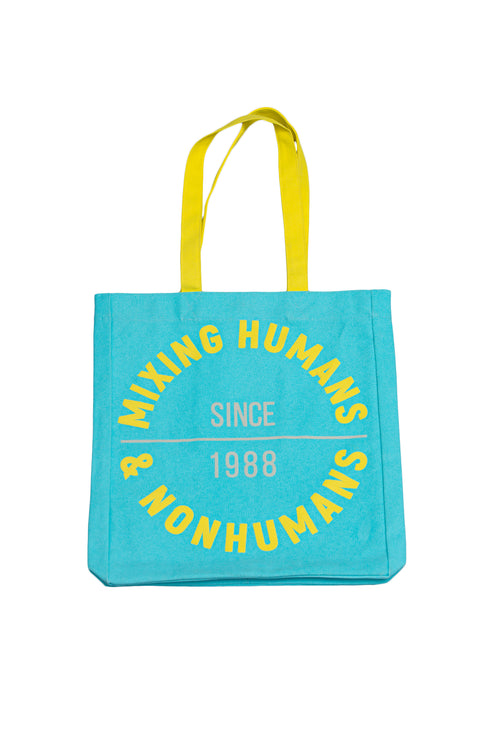 Canvas Tote Bag 'Mixing Humans and Nonhumans' - Diiple.com