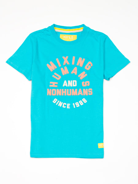 Short sleeve t-shirt 'Mixing Humans and Nonhumans' - Diiple.com