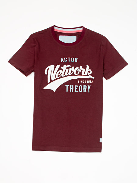 Short sleeve t-shirt 'Actor network theory' - Diiple.com