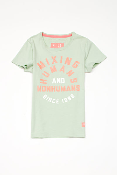 Short sleeve t-shirt 'Mixing Humans and Nonhumans'
