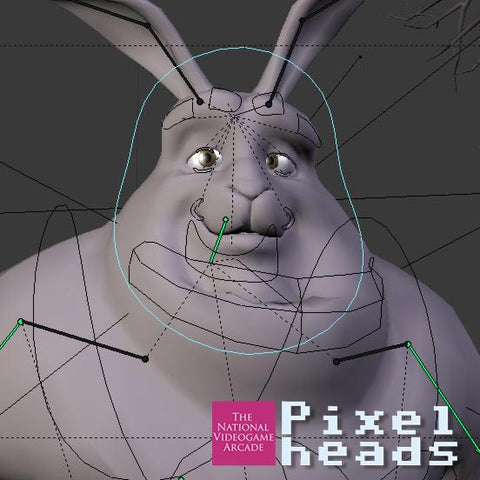PixelHeads: 3D modelling with Blender