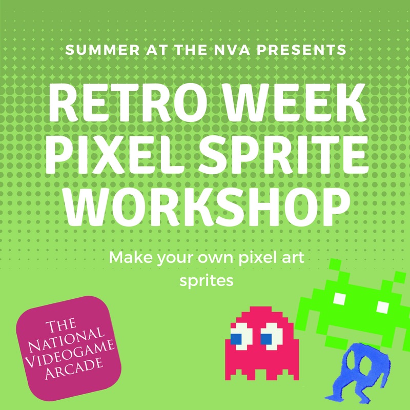 Summer at the NVA: Pixel Art Workshop