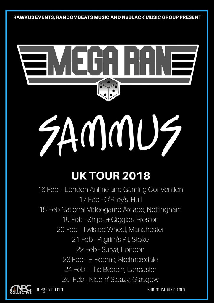 Mega Ran and Sammus tour 2018