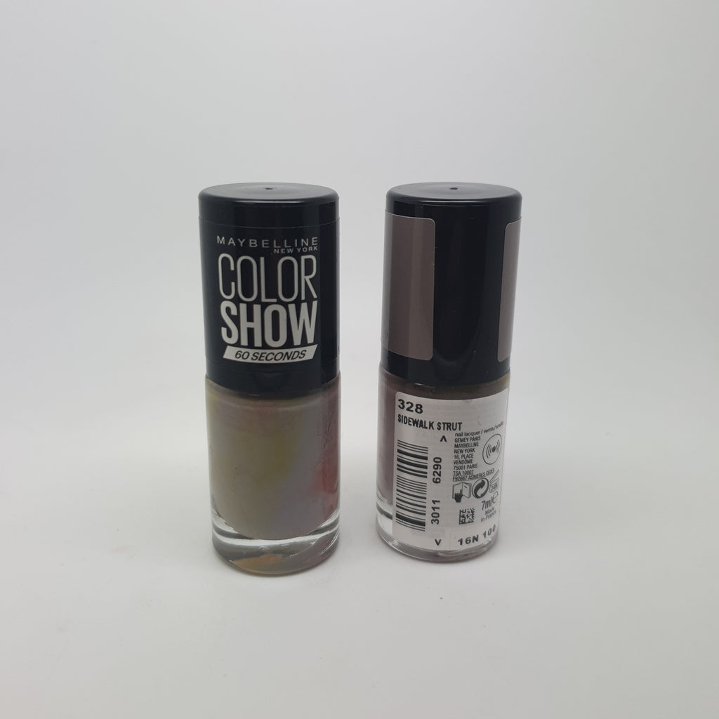 Maybelline Color Show Nail Varnish, 328 Sidewalk Strut x 6 (£0.50 each)