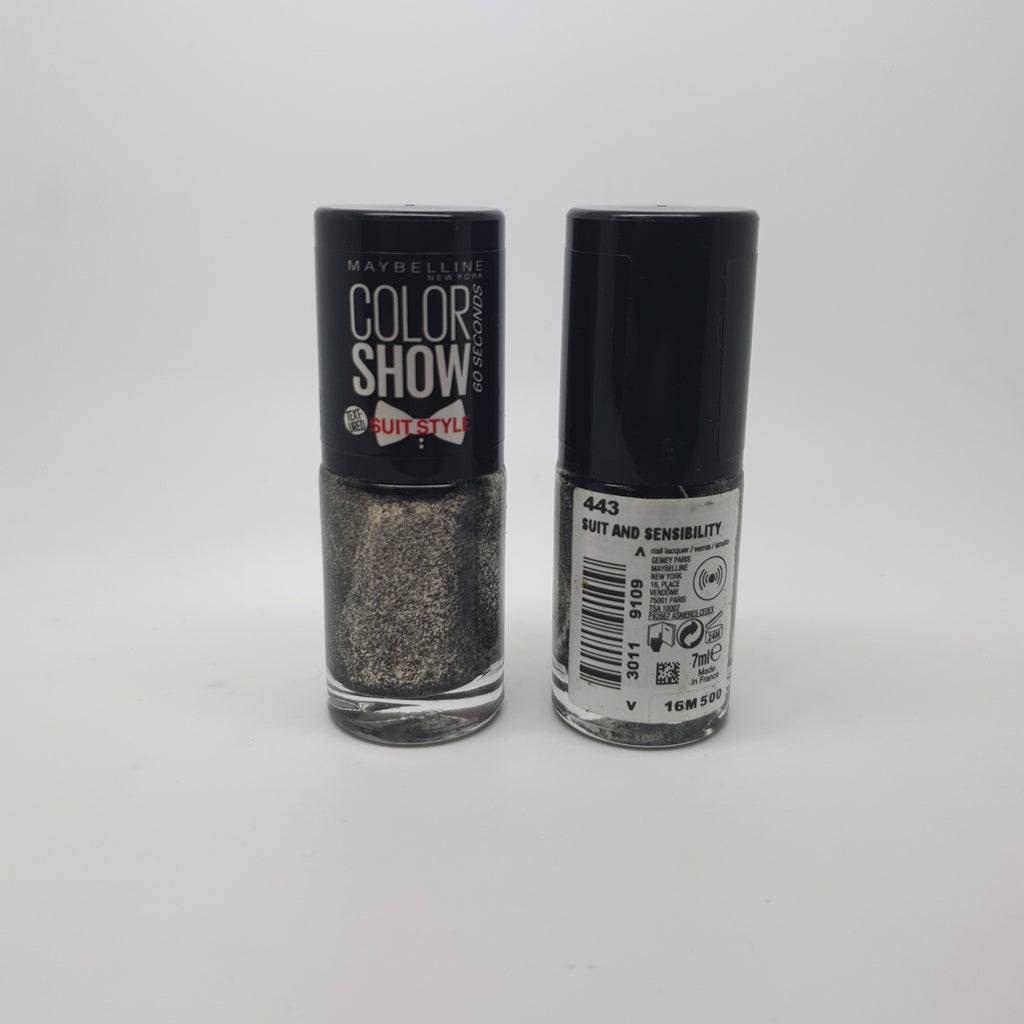 Maybelline Color Show Nail Varnish, 443 Suit And Sensibility x 6 (£0.50 each)