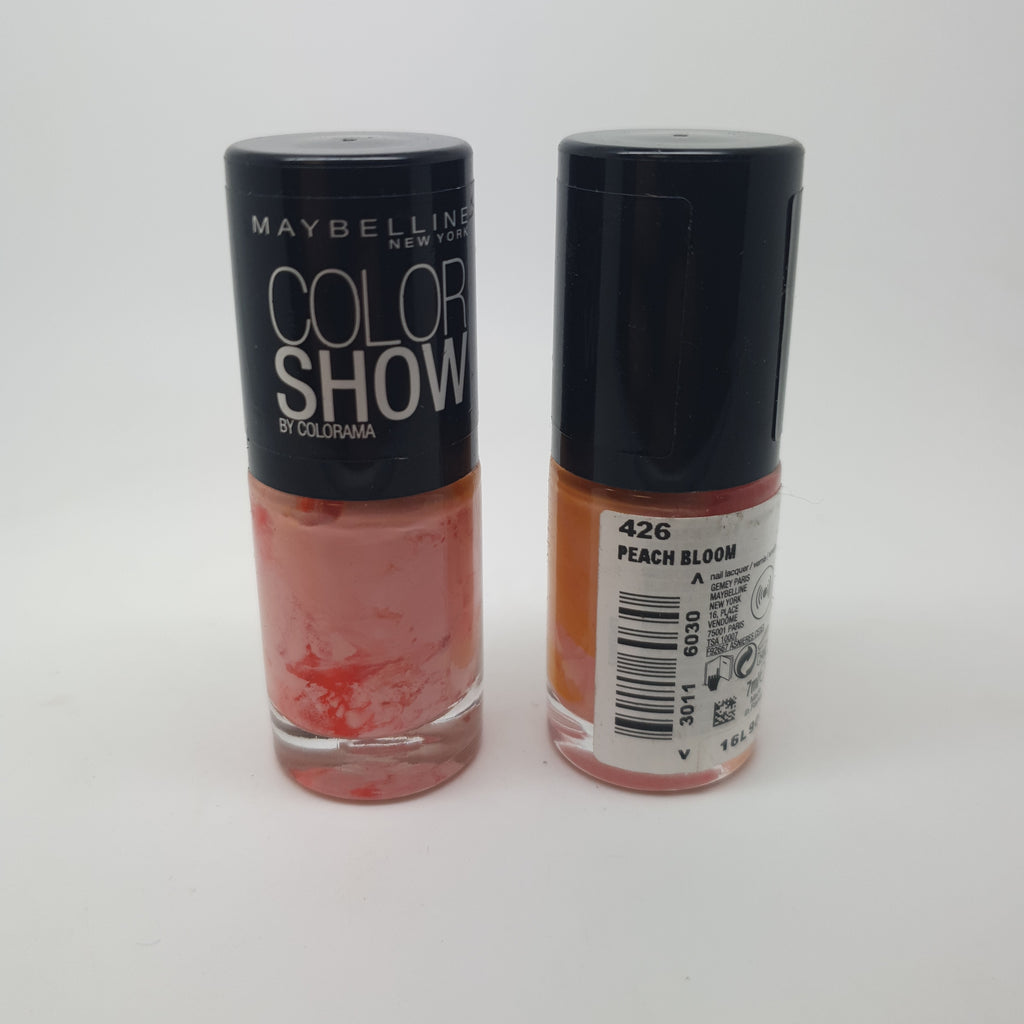 Maybelline Color Show Nail Varnish, 426 Peach Bloom x 6 (£0.50 each)