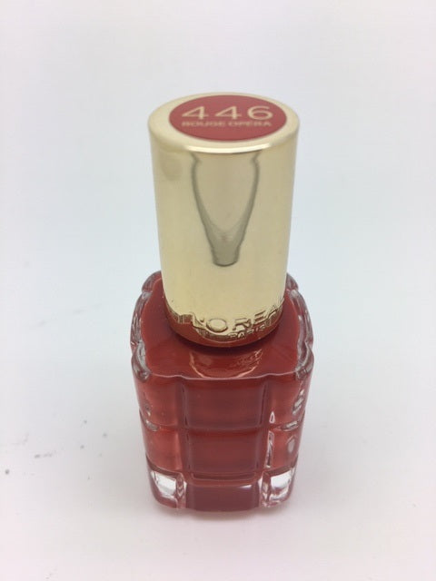 L'oreal Color Riche Nail Polish A L'Huile, 446 Rouge Opera x 6 (£0.50 each)