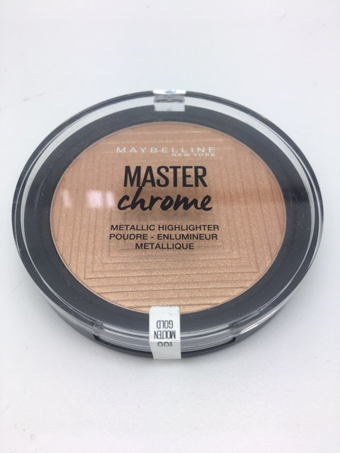 Maybelline Master Chrome Metallic Highlighter, 100 Molten Gold x 6 (£1.50 each)