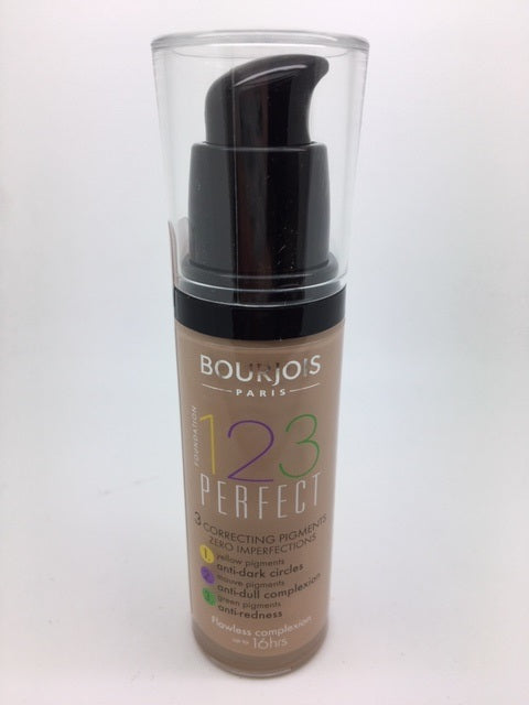 Bourjois 123 Perfect Foundation, 56 Rose Beige x 6 (£3.00 each)