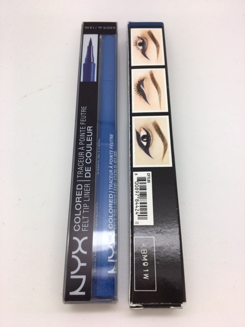 NYX Colored Felt Tip Liner, 05 Cobalt Blue x 6 (£1.35 each)