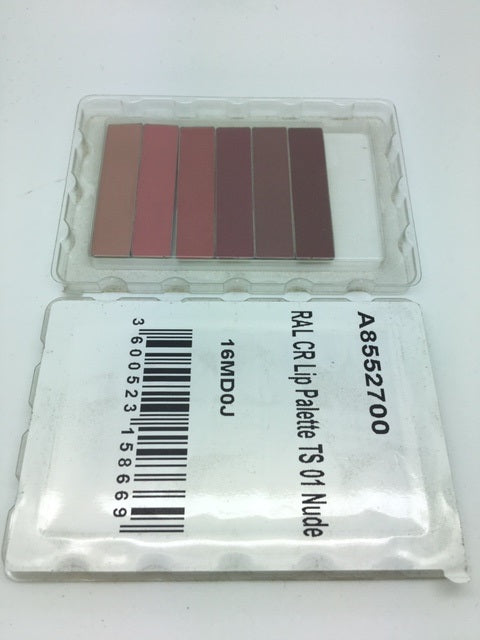 L'oreal Color Riche Lip Palette, 01 Nude. CLEAR PLASTIC CASING TESTER X 24 (£0.50 each)