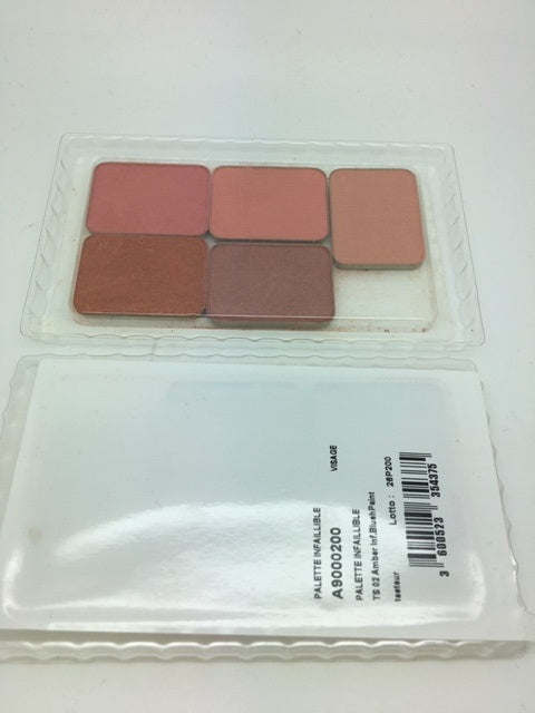 L'oreal Infallible Blush Palette, Ambers. CLEAR PLASTIC CASING (£0.20 each) x 20