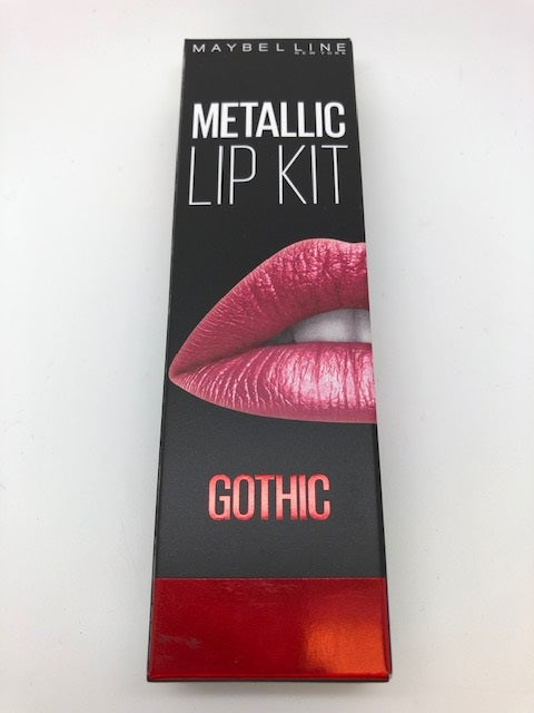 Maybelline Metallic Lip Kit, Gothic x 6 (£1.50 each)
