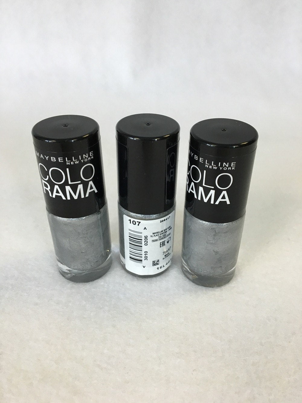 Maybelline Colorama Nail Polish. 107 Watery Waste x 12 (£0.40 each) - Fizzy Peach Ltd