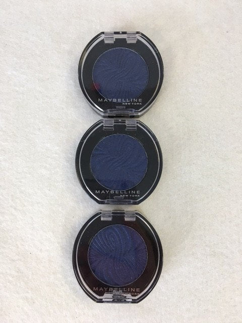 Maybelline Color Show Mono Eyeshadow - 21 Midnight Navy x 12 (£0.80 each) - Fizzy Peach Ltd