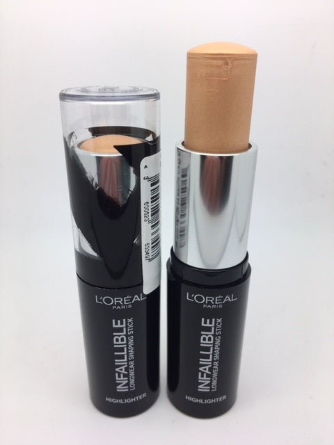 L'oreal Infallible Longwear Shaping Stick Highlighter, 502 Gold is Cold x 6 (£1.95 each)