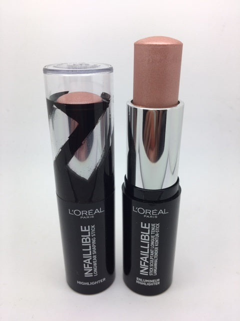 *Clearance* L'oreal Infallible Longwear Shaping Stick Highlighter, 501 Oh My Jewels x 48 (£1.50 each)