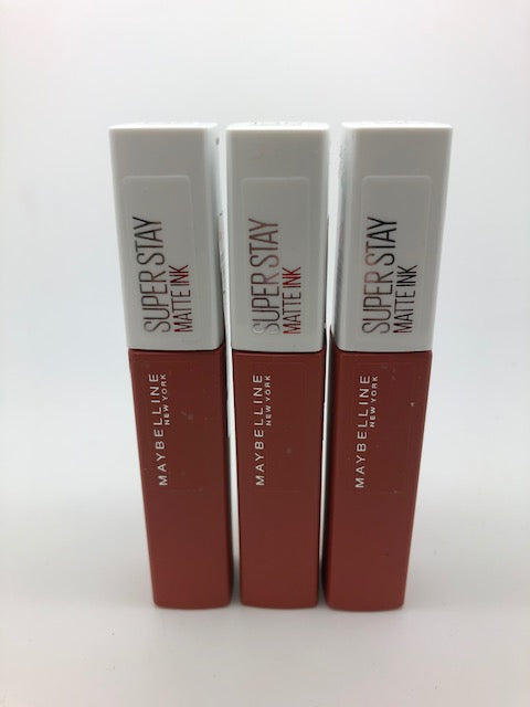 Maybelline Super Stay Matte Ink Lipstick, 135 Globetrotter x 6 (£1.65 each)