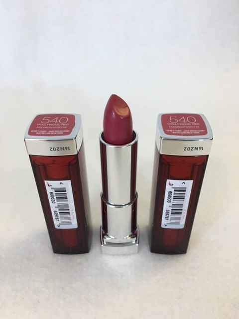 Maybelline Color Sensational Lipstick 540 Hollywood Red x 12 (£1.20 each) - Fizzy Peach Ltd