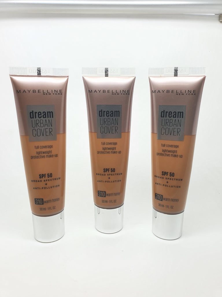 Maybelline Urban Dream Cover Foundation, 310 Warm Honey x 6 (£2.50 each)