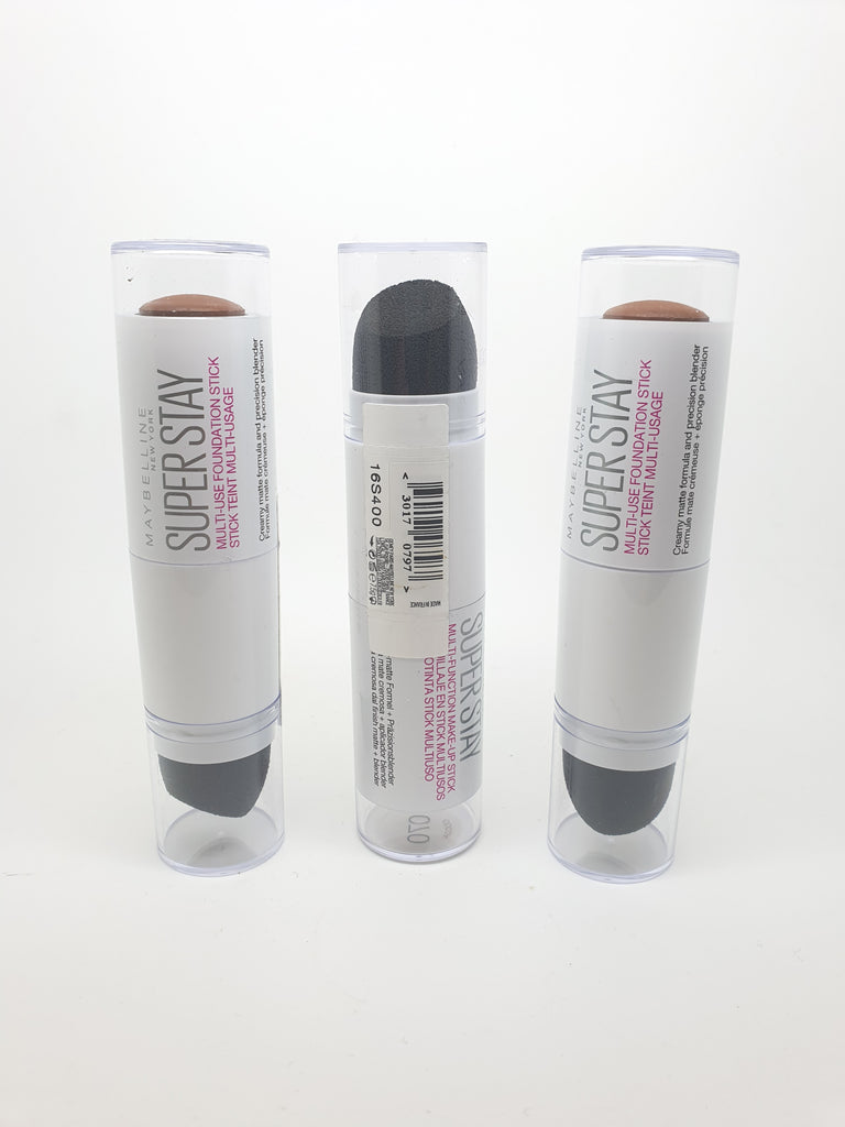 Maybelline Superstay Multi-use Foundation Stick, 070 Cocoa x 6 (£2.25 each)