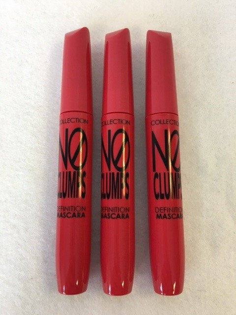 COLLECTION 2000 No Clumps Definition Mascara, 17 Ultra Black x 12 (£0.75 each) - Fizzy Peach Ltd