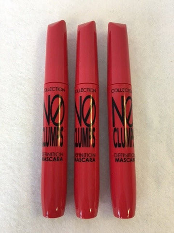 COLLECTION 2000 No Clumps Definition Mascara, 17 Ultra Black x 12 (£0.75 each)