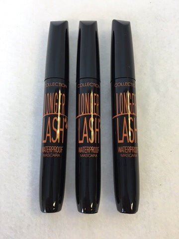 COLLECTION 2000 Longer Lash Waterproof Mascara, 1 Black x 12 (£0.75 each)