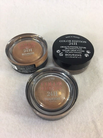 Bourjois Color Edition 24H Eyeshadow 02 Or Desir x 6 (£1.50 each)