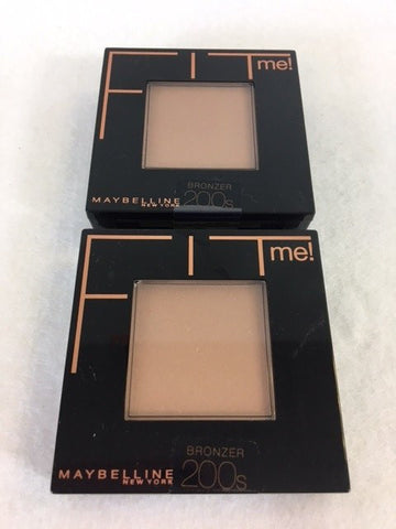 Maybelline FIT ME Bronzer Powder 200s x 6 (£2.10 each)