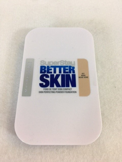 Maybelline Super Stay Better Skin Powder Foundation, 021 Nude x 6 (£1.50 each) - Fizzy Peach Ltd